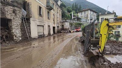Forti temporali e allagamenti anche nel Comasco
