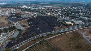 فيديو: طائرات إسرائيلية  تقصف مواقع في لبنان لأول مرة منذ سنوات