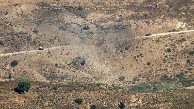 Aviones israelíes atacan sitios de lanzamiento de cohetes en el Líbano