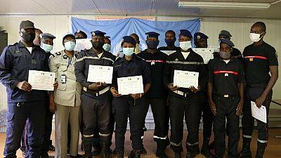 MOPTI : La composante police des Nations Unies (UNPOL) forme des agents de la Protection civile sur la prévention et prévision des risques d'incendie