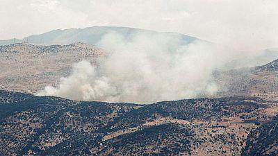 Hezbolá e Israel intercambian fuego transfronterizo en medio de tensiones con Irán