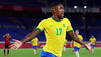 Malcolm marca el gol de la gloria dorada para Brasil en fútbol masculino