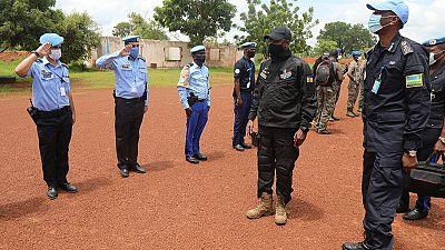 Mission D'évaluation du Directeur Général de la Police Centrafricaine et du Chef de La Police de la MINUSCA à Birao