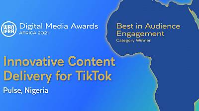Pulse wins Best in Audience Engagement at WAN-IFRA African Digital Media Awards