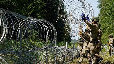 El parlamento lituano debatirá la construcción de una valla en la frontera con Bielorrusia