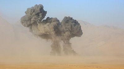 Rusia exhibe nuevas armas en un simulacro cerca de la frontera afgana