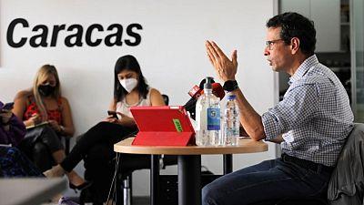 Dirigente opositor Henrique Capriles llama a participar en elecciones venezolanas