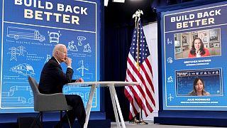 El plan de gasto de 3,5 billones de dólares del Senado de EEUU divide a los demócratas