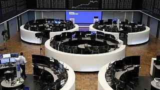 Las bolsas europeas se encaminan a una cuarta semana de ganancias