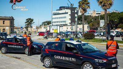 40enne indagato in Lombardia, arrestato da Cc a Senigallia
