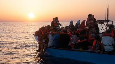 A bordo della nave c'è Cecilia,figlia del fondatore di Emergency