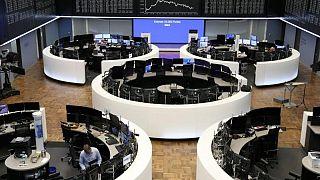 Global shares slip on unexpectedly weak Chinese data