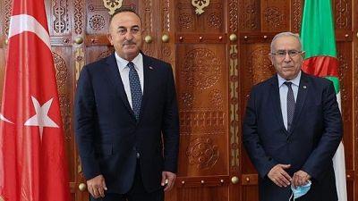 Visite du ministre des Affaires étrangères Mevlüt Çavusoglu en Algérie, 14-15 août 2021