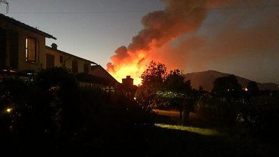Hanno perso controllo delle fiamme, indagini dei carabinieri