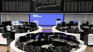 European stocks steady as travel sector rebounds