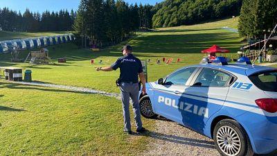 """Polizia sospende per 20 giorni """"PIC-NIC KM 0...."""" a Piancavallo"""