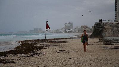 Huracán Grace toca tierra en la Península de Yucatán: CNH