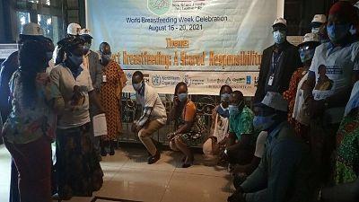 Liberia: Ministry of Health, Partners Observe World Breastfeeding Week