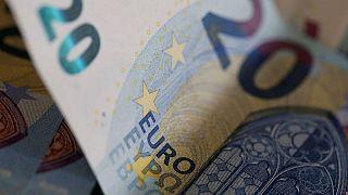 Euro zone bond yields higher on risk sentiment, flash PMIs