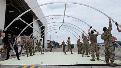 El ejército estadounidense evacuó a más de 10.000 personas de Kabul el domingo