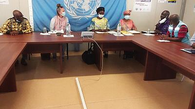 Bambari - La situation des déplacés internes au coeur d'une visite conjointe