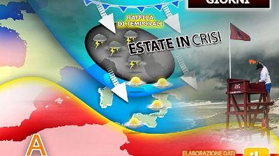 Regioni più colpite Marche, Abruzzo, Molise e poi Puglia