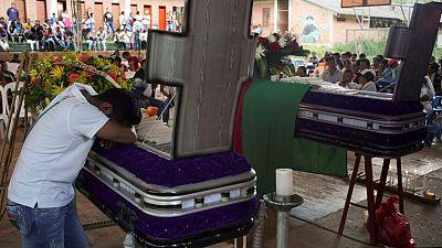 Asesinatos de defensores de DDHH en Colombia bajan en primer semestre, violencia sigue: Informe