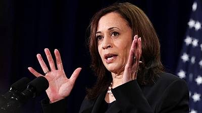 Kamala Harris dice que EEUU se pronunciará sobre el Mar de China Meridional