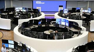 European stocks inch lower ahead of Powell's speech