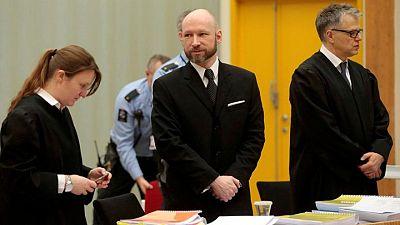 Un tribunal revisará la petición de libertad condicional del asesino noruego Breivik