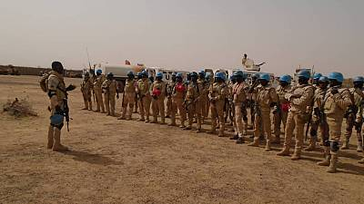 La Protection des Civils au Coeur D'une Opération de Sécurisation des Casques Bleus à Niafounké