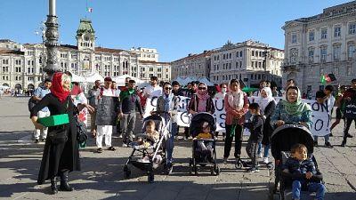 A Trieste oltre 200 persone, attivare corridoi umanitari