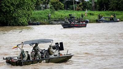 Colombia denuncia violación fronteriza de militares venezolanos