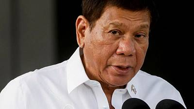 Rival faction in Philippines' ruling party tries to oust Duterte from chairman role