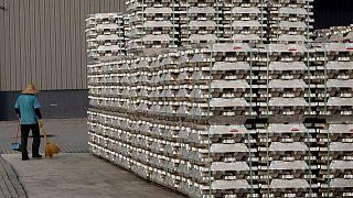 Aluminio en Shanghái toca máximo de 13 años, cobre sube