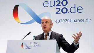 ECB to raise growth forecast next week: de Guindos