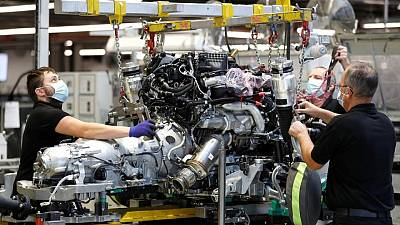Supply chain woes stunt UK manufacturing growth in August -PMI