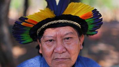 Yanomami shaman sees tough times ahead for Brazil's indigenous