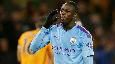 Soccer-City defender Mendy to remain in custody after being denied bail
