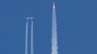 U.S. aviation regulator probing Branson's Virgin Galactic flight deviation