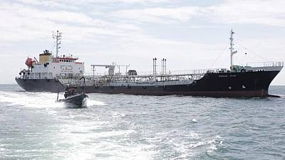 Panamanian-flagged tanker seized in Indonesian waters