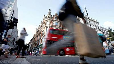 UK card spending slips to 93% of pre-COVID level - ONS