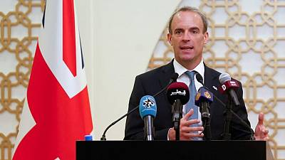Britain's Raab, in Qatar, says need to engage with Taliban on Afghanistan