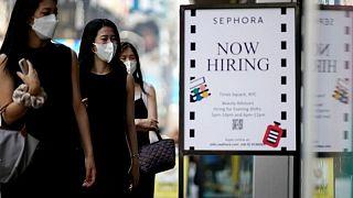 La presión de delta en los servicios probablemente ralentizó el empleo en EEUU en agosto