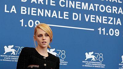 Kristen Stewart's turn as Princess Diana woos Venice