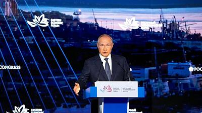 Putin says we need to discuss 'legalising' political force in Afghanistan