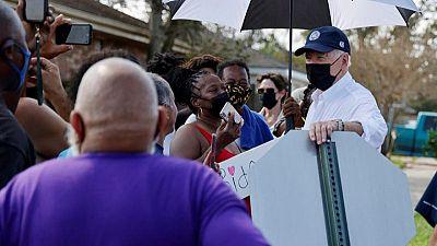 Touring hurricane-hit Louisiana, Biden cites 'incredible' storm, pitches infrastructure fix