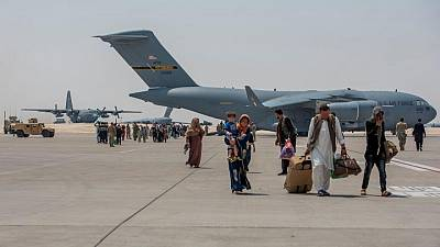 Fewer than 1,400 evacuees from Afghanistan still at Qatar base, U.S. general says