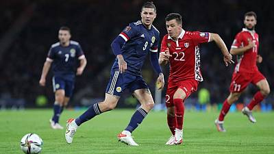 Soccer-Scotland beat Moldova 1-0 on a night of squandered chances