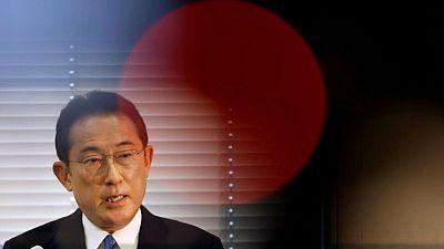 Japan PM candidate Kishida wants to delay economic stimulus debate